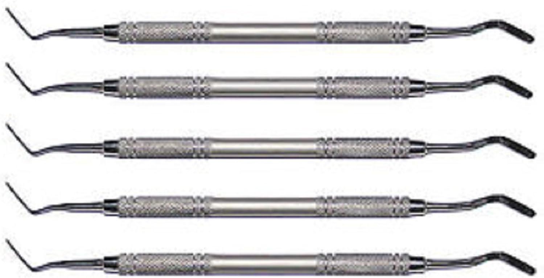 5 Entgitter-Nadel-Haken aus Edelstahl mit Rundgriff B079H6P6RT  Neuankömmling