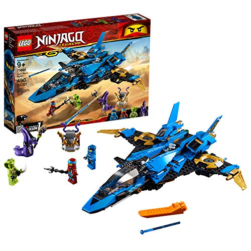LEGO NINJAGO Legacy Jays Storm Fighter 70668 Building Kit (490 Pieces)
