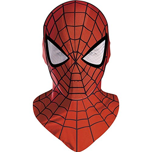 Spiderman Deluxe Adult Red Costume Mask