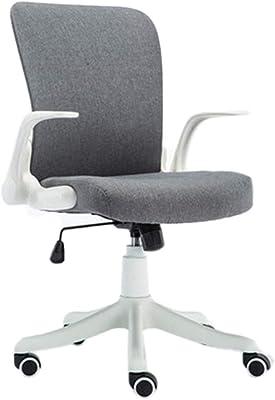 Amazon.com: LJHA Office Swivel Chair, Mesh Desk Chair Lumbar ...