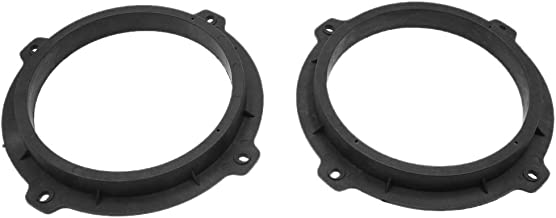 sourcing map 2pcs 6 5 Inch Car Stereo Speaker Spacer Mount Adapter Ring