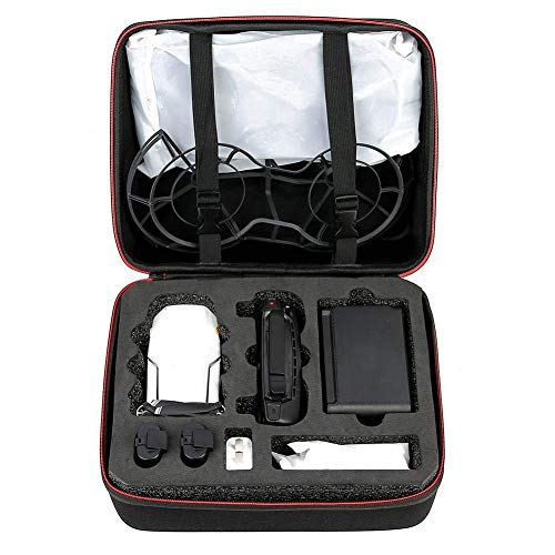 FENGLI Funda impermeable RC Drone Parts bolsa de mano portátil maleta de transporte caso de una sola bolsa de hombro caja de almacenamiento para DJI Mavic Mini (color: nailon)