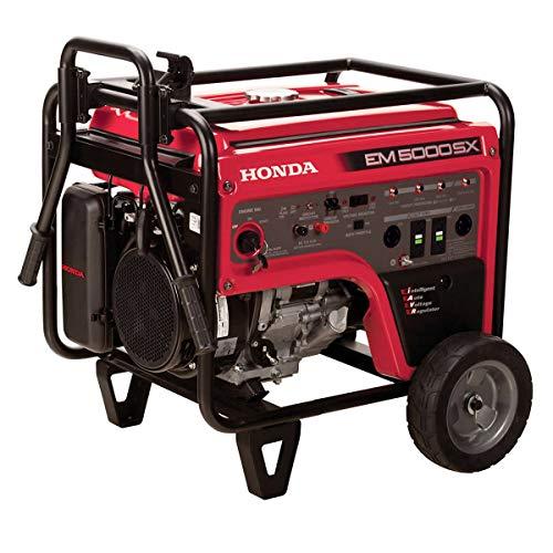 Honda brand generator the Honda EM 5000SX
