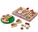 Melissa & Doug | Pizza En Bois | Jeux de rôle | 3+ years