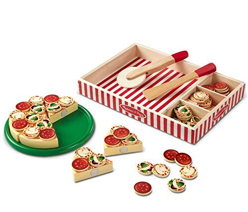Melissa & Doug Pizza Party Giocattolo in Legno, Multicolore, 167