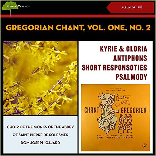 Gregorian Chant: Short Responsory, V. Passion Tone—De Ore Leonis (Simple Mode IV, and Solemn)