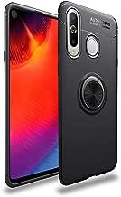 جراب Avalri لهاتف Samsung Galaxy A8S، غطاء رفيع ناعم وواقي كامل يدور 360 درجة مع خاصية تثبيت مغناطيسية للسيارة لهاتف Galaxy A8S, اسود