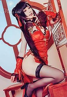 [milky time] デート・ア・ライブ 時崎狂三 チャイナドレス コスプレ 衣装 DATE A LIVE くるみ ハロウィン