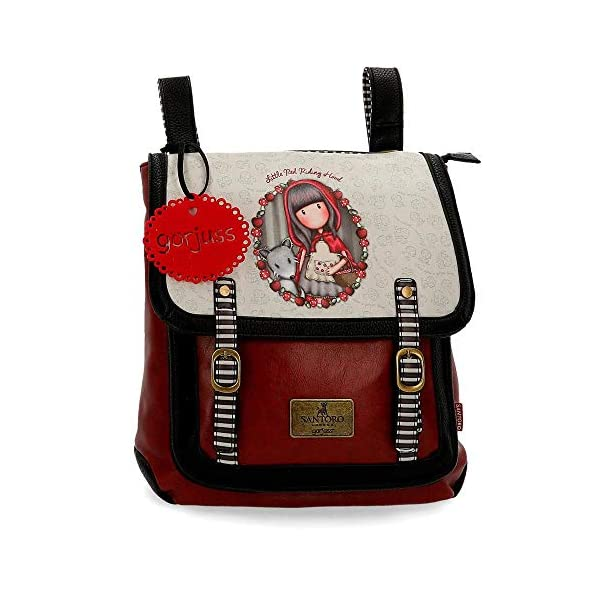 51YVVVSTnvL. SS600  - Mochila pequeña Gorjuss con bandolera Little Red Riding Hood