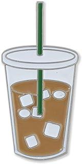 Forge Iced Coffee Enamel Diestruck Lapel Pin
