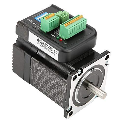 Controlador de motor paso a paso NEMA23, kit de controlador de servo motor paso a paso de circuito cerrado híbrido de 1 Nm 36VDC IHSS57-36-10, motor servo con controlador
