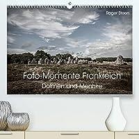 Foto-Momente Frankreich - Dolmen und Menhire (Premium, hochwertiger DIN A2 Wandkalender 2022, Kunstdruck in Hochglanz): Die Megalithen der Bretagne (Monatskalender, 14 Seiten )