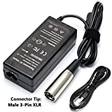 Givehooy 36W 24V 0.6A Bike Motor Electric Scooter Charger for eZip 400 500 750 900 E750 400 E400 500 E500 E650 4.0 4.5 E-4.5;eZip Trailz Electric Bicycle 900-24V 0.6A 600mA Power Supply Adapter