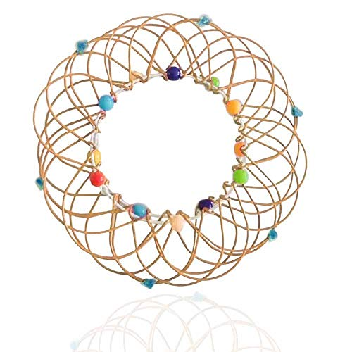 JHGG Magic Mandala Flower Basket Toy - Magic Loops Toy, Juguete De Cumpleaños De Alambre Hecho a...