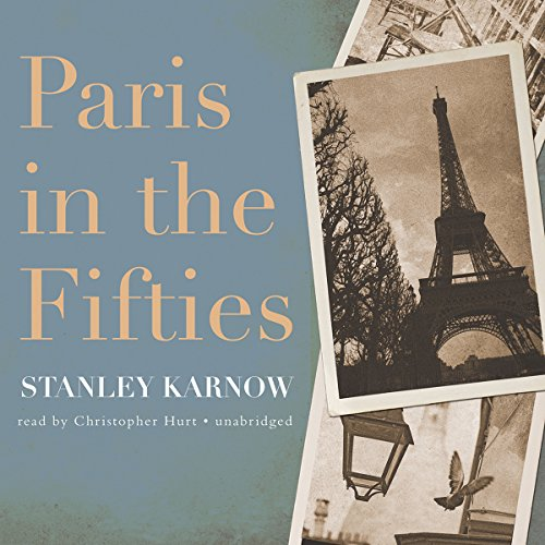 Paris in the Fifties audiobook cover art