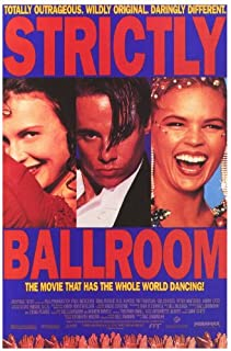 Strictly Ballroom Poster D 27x40 Paul Mercurio Tara Morice Bill Hunter