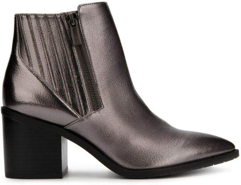 Damen Cue Up Up Block Heel Pointed Toe Ankle Stiefelie Stiefelette, Medium  offizielle Qualität