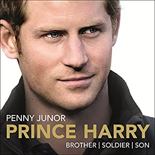 Prince Harry     Brother, Soldier, Son              By:                                                                                                                                 Penny Junor                               Narrated by:                                                                                                                                 Penny Junor                      Length: 13 hrs and 4 mins     21 ratings     Overall 4.0