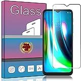 MOTO G9 Play ガラスフィルム 強化ガラス 液晶保護フィルム MOTO G9 Play フィルム 厚さ0.33㎜ 硬度9H 気泡ゼロ ガラス飛散防止 指紋防止高精細 表裏面保護 透明 PCduoduo