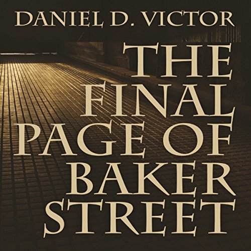 The Final Page of Baker Street audiobook cover art