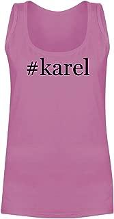 The Town Butler #Karel - A Soft & Comfortable Hashtag Women's Tank Top
