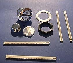 Ideale standaard SV695AA ongebrande - verhoogde drukknop enkele flush - lange ratel