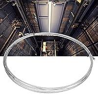 49.2フィートのステンレス鋼ケーブル、15mのステンレス鋼ケーブルに耐えるステンレス鋼ロープの滑らかな表面