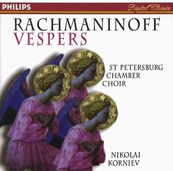 Rachmaninov: Vespers (All-Night Vigil), Op.37