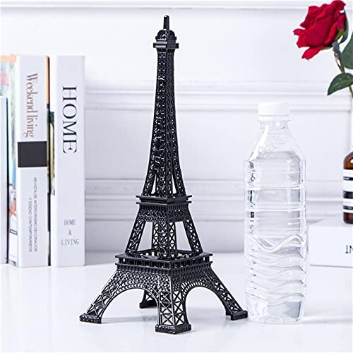 Chaobing Torre Eiffel Modelo de Arte Artesanal Adornos de Modelo -Figurines Pieza Decorativa para Dormitorio, Sala de Estar, estantería, Mesa o Pantalla de televisión (Number : Number3)