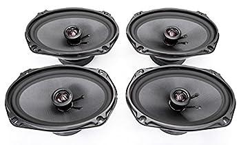 2  Skar Audio TX69 Elite 6-Inch x 9-Inch 3-Way Coaxial Speakers -  2  Pairs