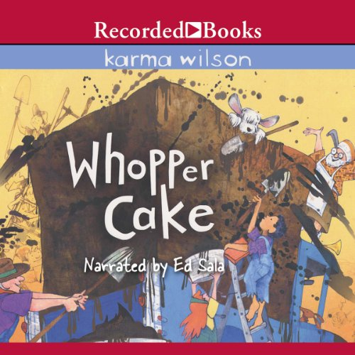 Whopper Cake audiobook cover art