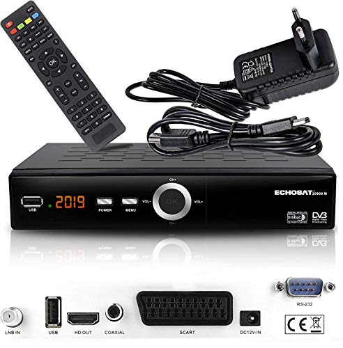 hd-line Echosat 20900 M Digital Satelliten Sat Receiver - (HDTV , DVB-S/S2...