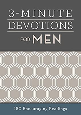 3-Minute Devotions for Men: 180 Encouraging Readings by Barbour Books