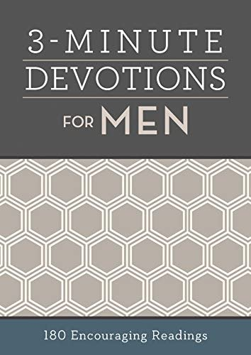 3 Minute Devotions for Men 180 Encouraging Readings product image