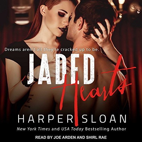 Jaded Hearts audiobook cover art