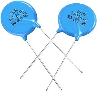 10 x Featured Radial Lead Disc Voltage Dependent reliable efficacy Resistors AC fine workmanship 150V 14D241K