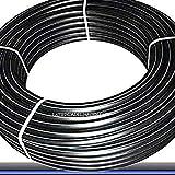 TUBERIA 50MM de Polietileno ALIMENTARIA alta densidad. Presión máxima 10 BAR. Bobina de 100 METROS. Color negro. Máxima calidad. Tuberia con Certificado AENOR apta uso agua potable.