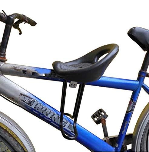GFYWZ Montaña Bicicleta Niño Asiento Delantero Detrás Niño Bebé Asientos Seguros Negro