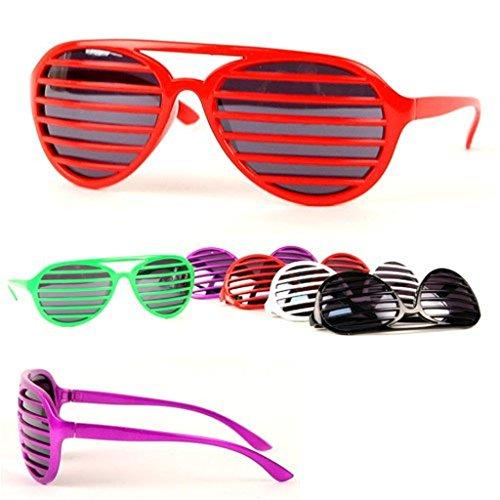 INTVN Unisex Occhiali da Sole a Forma di Fiamma,Creativa Occhiali da Sole in Metallo Senza Cornice UV400 per compleanni matrimoni o feste lauree