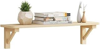 Étagère Tablette murale Il peut être installé même à louer Placoplâtre exclusif Condominium Fait de bois domestique Espace...