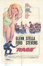 Rage Poster Movie 27x40 Glenn Ford Stella Stevens David Reynoso