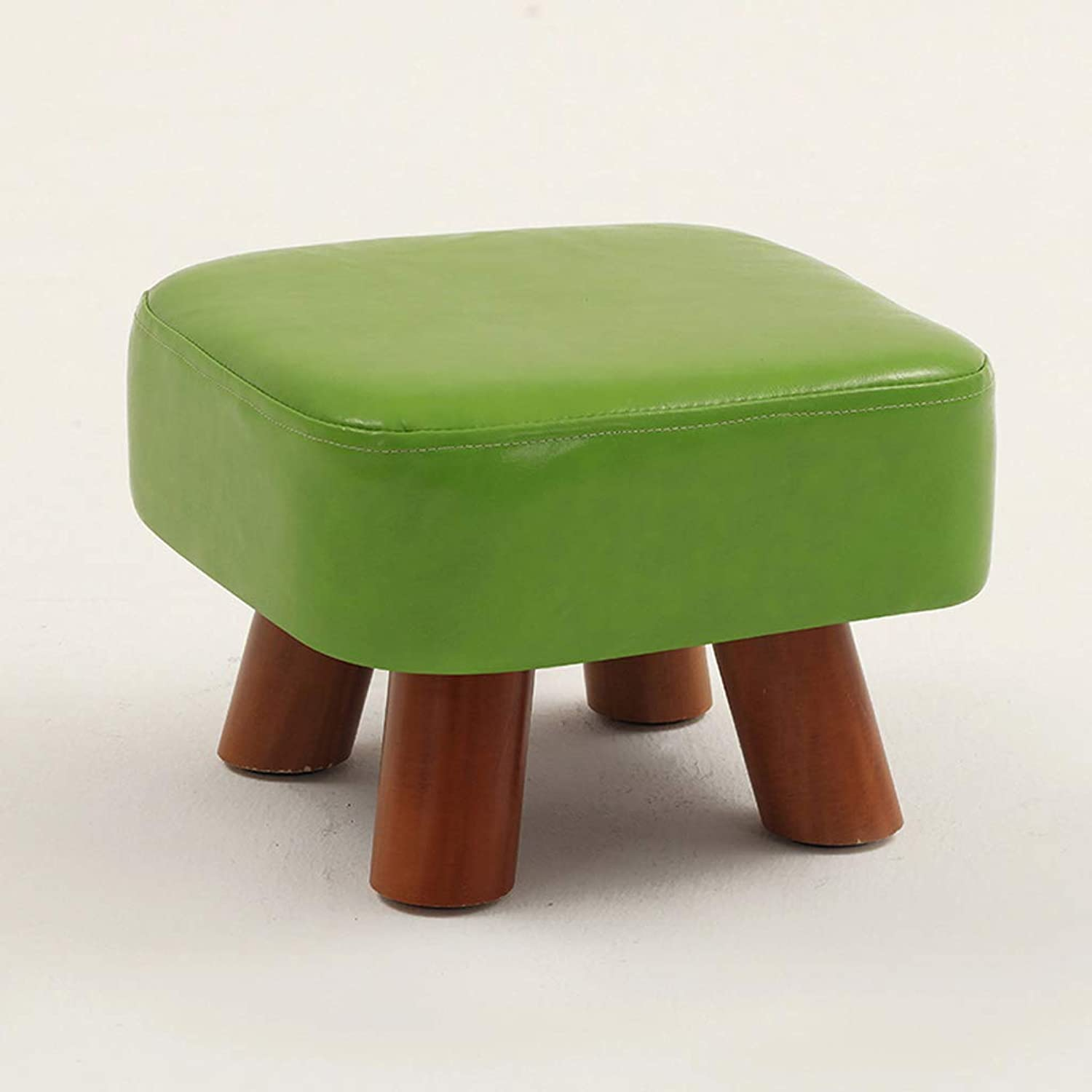 HLJ Solid Wood Home Small Bench Fashion Creative Living Room Sofa Stool Simple Change shoes Stool