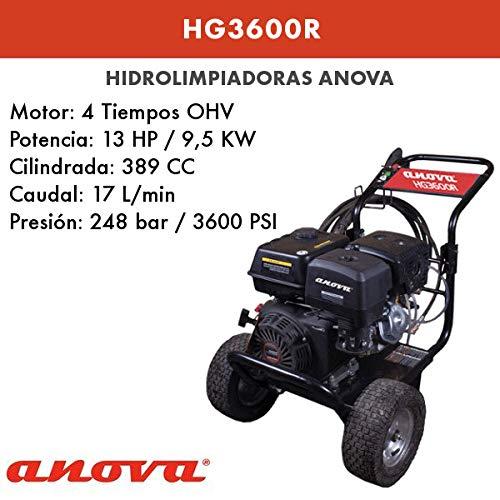 ANOVA HIDROLIMPIADORA Gasolina HG3600R