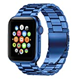 Fitlink Stainless Steel Metal Band for Apple Watch...