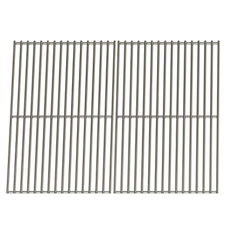 Hisencn Stainless Steel Cooking Grate Replacement for Charbroil 463268007, 463268606, 463247009, 463244011, 463248108, Thermos 461262407, Master Forge GGP-2501, 18 1/4 inch