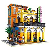 WDLY 2545 PCS City Coffee House Toy Building Blocks Modelo Kit Set, Lego Compatible Construir para Niños, Niñas, Niños Y Adultos