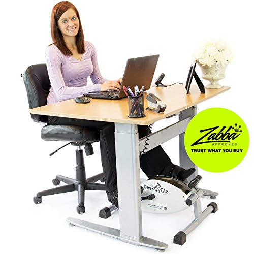 DeskCycle Under Desk Cycle,Pedal Exerciser - Stationary Mini Exercise Bike - Office, Home Equipment