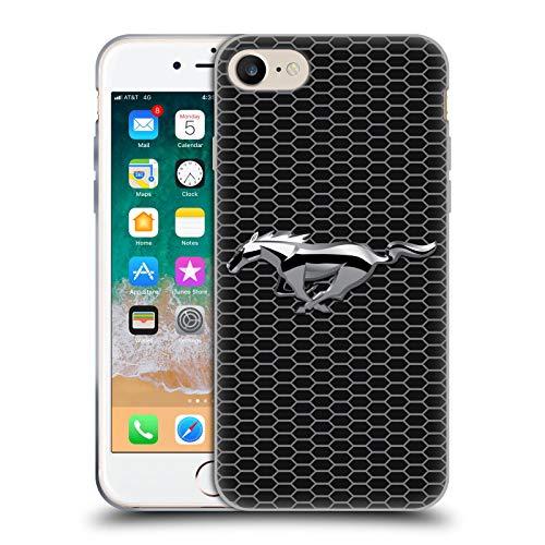 Head Case Designs Offizielle Ford Motor Company Grillen Mustang Logos Soft Gel Handyhülle Hülle Huelle kompatibel mit Apple iPhone 7 / iPhone 8 / iPhone SE 2020
