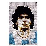 ZFLSGWZ Diego Maradona Argentinien Fußball Fußball Star