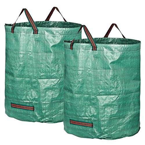GardenMate 2X Bolsas de Basura de jardín 272L - Altura 76 cm...